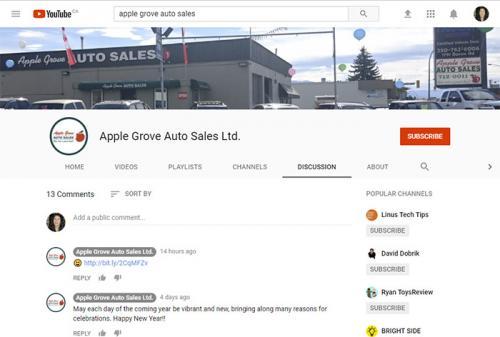 Apple Grove Auto Sales